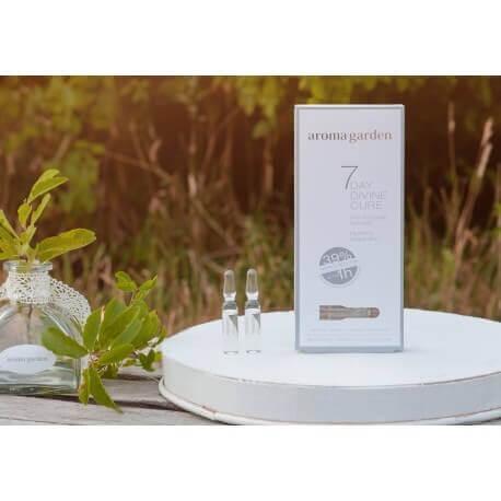 7 day divine cure_feuchtigkeitsspendend_faltenreduktion_aroma garden