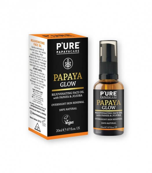 papaya_glow_gesichtsöl_p'ure