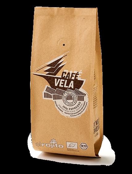 Café Vela Bio-Espresso 250g ganze Bohne